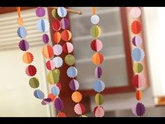 Robert Mahar's Sewn Paper Garland video tutorial