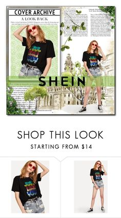 """SHEIN"" by banhary ❤ liked on Polyvore featuring Whiteley"