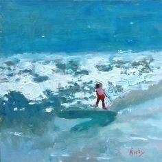 """Surfs Up"" - Original Fine Art for Sale - © Randall Cogburn"