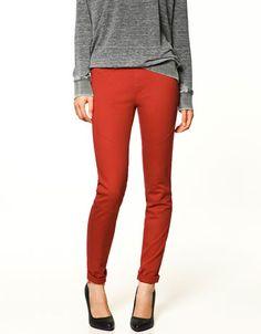 Zara - color jeggings - $35.90