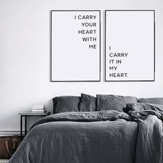 I carry your heart with me I carry your heart print by ColourMoon