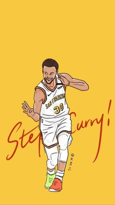 Stephen Curry Basketball, Nba Stephen Curry, Basketball Motivation, Basketball Art, Nba Background, Top Nba Players, Nba Basket, Curry Nba, Kobe Bryant Pictures