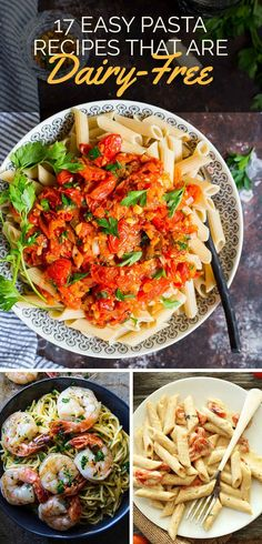 17 Easy Weeknight Pastas That Don't Have Any Dairy Best Recipes, Recipe ideas, #recipe