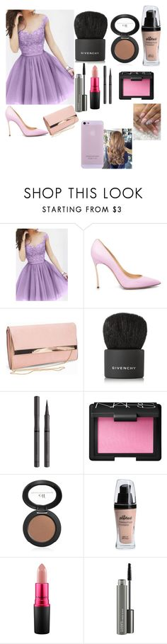 """😍😍😍😍😍"" by lovepink75 ❤ liked on Polyvore featuring New Look, Givenchy, Burberry, NARS Cosmetics and MAC Cosmetics"