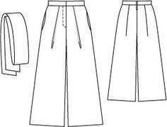 Wide Sailor Pants 04/2015#104