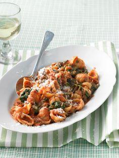 Spinatnudeln mit Speck, ein schönes Rezept aus der Kategorie Pasta & Nudel. Bewertungen: 36. Durchschnitt: Ø 4,4.