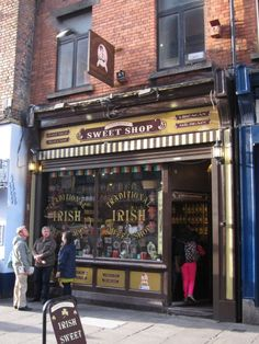 Old fashioned sweet shop, Main Street, Mallow, Cork