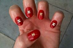 Classy Chanel Nails