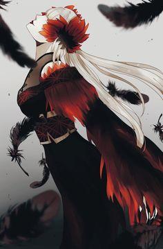 Game Character Design, Fantasy Character Design, Character Inspiration, Character Art, Dark Anime Girl, Anime Art Girl, Dark Fantasy, Fantasy Art, Identity Art