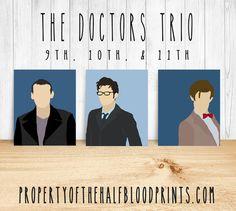 THE DOCTORS Minimalist Trio: 9TH 10TH 11TH