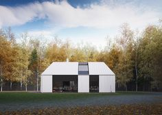 A prefab, or kit, house needs to be flexible in size and configuration to accommodate individual families' needs and individual locations. So, in order to maintain the architectural integrity of these houses, the design places importance on some strong features rather than any particular dimension