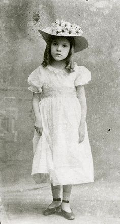 Mary Pickford as Eva in the stage play Uncle Tom's Cabin, 1901