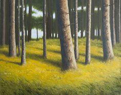 Painting: Rob Donders   Oil on canvas - VERBRANDE PAN