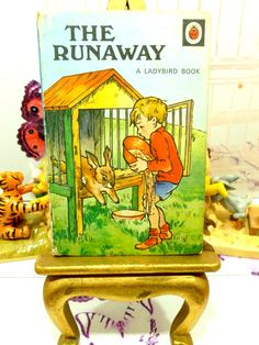 Vintage Ladybird Book The Runaway Bunny Rabbit by KittysTales