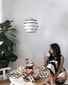 Alvar Aalto, Lamp Inspiration, Scandinavia Design, Suspension Design, Pretty Photos, Marimekko, Scandinavian Style, Dining Area, Beehive