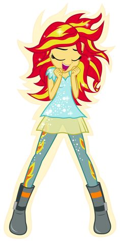 Sunset Shimmer transforming into Phoenix by Zuko42 on DeviantArt