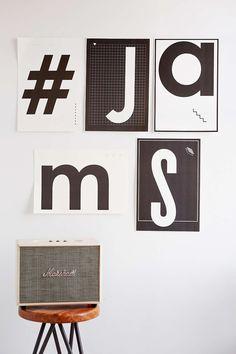 Assembly Home Letter Art Print