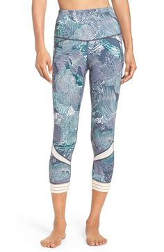 Zella Amour High Waist Crop Leggings available at #Nordstrom