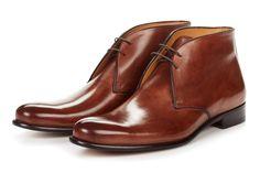 The Newman Chukka Italian Leather Boots   Paul Evans