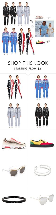 """Jumpsuit For Men & Women..**"" by yagna ❤ liked on Polyvore featuring OnePiece, NIKE, Vans, N°21, Maya Magal, Peace Love World, Linda Farrow and vintage"