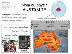 Découvrez l'Australie » Ecole Anne Sylvestre - Pouillé les Coteaux
