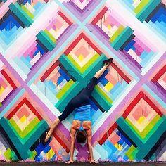 Mit Yoga Teil eines Kunstwerks werden   KlonBlog