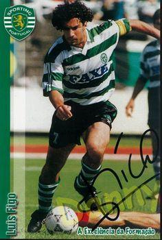 LUIS FIGO Portugal Soccer, Personal Qualities, Soccer Players, Football, Baseball Cards, The Originals, Grande, Sports, Photography