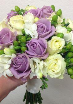Mauve Rose Wedding Bouquet form The Wild Orchid Florist, Echuca Victoria. 0354806777 #mauveroses #echucaflorist #weddingbouquet #thewildorchid