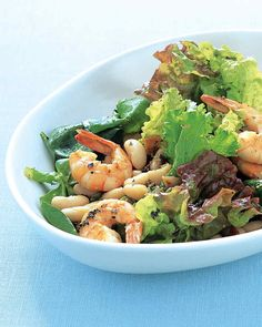 This salad is hearty enough to be a full meal.