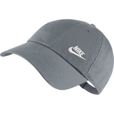 Nike Women's Twill H86 Adjustable Hat, Cool Grey