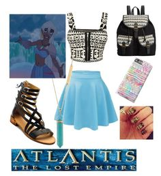"""High school Kida"" by reegan-diana ❤ liked on Polyvore featuring WearAll, Samantha Wills, Atlantis, Latigo and Rampage"