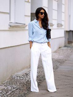 Flare Jeans Pantalones Tendencia Primavera Verano 2015 3