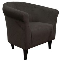 Found it at Wayfair - Savannah Microfiber Barrel Chair