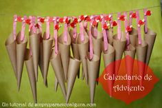 Calendario de adviento | Tutorial
