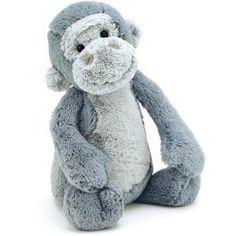 JellyCat Bashful Gorilla 18cm Baby Toy Jelly Cat