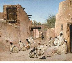 L'Orientalisme : de Delacroix à Matisse   Journal des peintres www.journaldespeintres.com595 × 523Buscar por imagen Marche sur une plage marocaine de Brangwyn José María Escacena y Daza (1800-1858) pintor - Buscar con Google