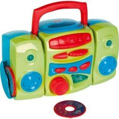 Toddler Nursery Rhyme Tunes I M A Cd Player Green