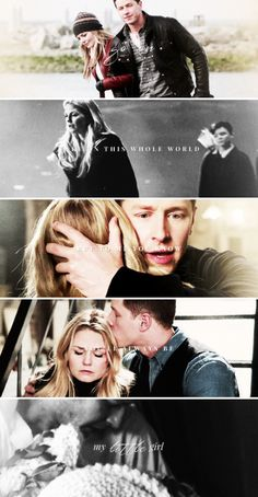 Go on. Take on this whole world but to me you know you'll aways be my little girl. #ouat
