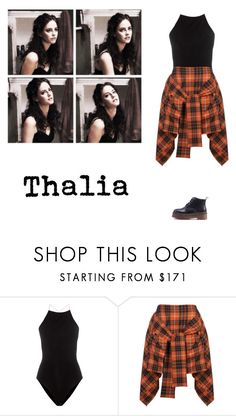 """Thalia Grace"" by suassuif ❤ liked on Polyvore featuring T By Alexander Wang and Vivienne Westwood Anglomania"