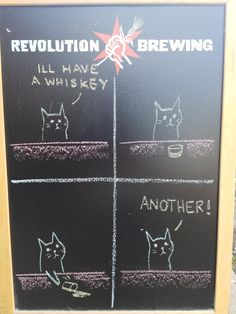 21 Hilarious Struggles Cat Owners Will Totally Understand (New Pics) - Page 2 of 2 Irish Restaurants, Tree Bar, Milkshake Bar, Owning A Cat, Restaurant Concept, Good Spirits, Menu Cards, Chalk Art, How To Cook Pasta