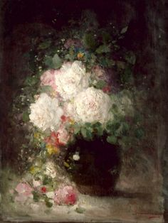By Nicolae Grigorescu Van Gogh, Watercolor Techniques, Flower Photos, Drawing S, Art History, New Art, Still Life, Art Gallery, Wall Art