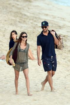 Olivia Palermo and Boyfriend in St. Barts