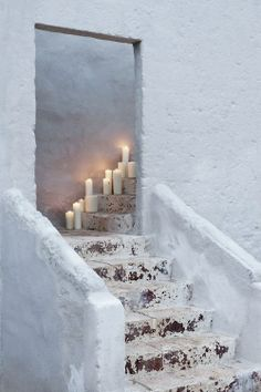 ...And the candles melt and the doorway leads to somewhere.