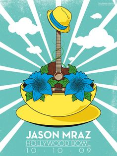#JasonMraz, Love is a four letter word tour, returns to the Hollywood Bowl Oct. 5th 2012!