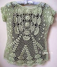 Crochet tesouro: Pullunder