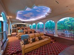 Only in my dreams home movie theater room!