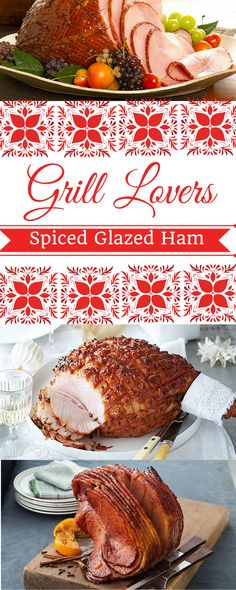 Grill Lovers' Amazing Spiced Glazed Ham Recipe   #recipes #foodporn #foodie