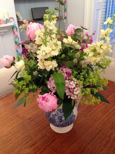 Cottage style flowers