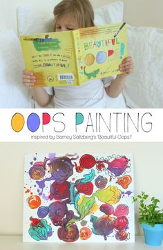Beautiful Oops Painting {turn oopses into something beautiful!} | Mama.Papa.Bubba.