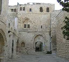 The Cenacle, on the traditional site of the Upper Room, location of the Last Supper